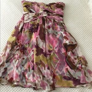 JUST REDUCED Marciano XS Silk Lilac floral dress